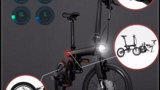 【小米】電動アシスト付き折りたたみ自転車 Xiaomi QiCYCLE プレセール