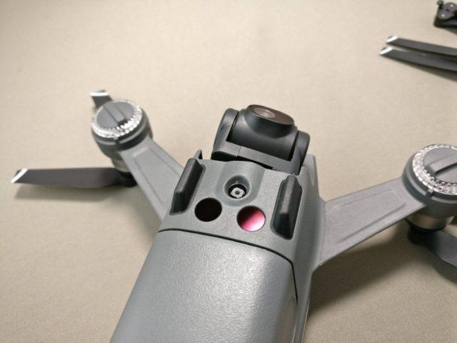 DJI Spark  下カメラ・3D赤外線モジュール2
