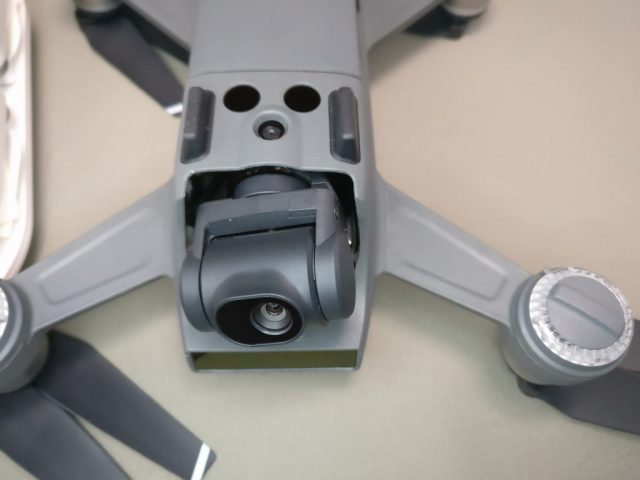 DJI Spark カメラ ジンバル