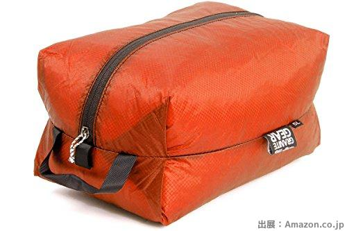 GRANITE GEAR エアジップサック XXS(5L) オレンジ