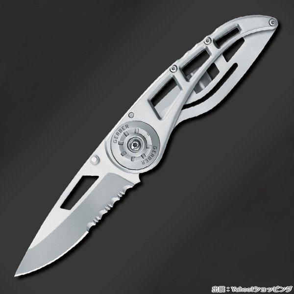 GERBER 折りたたみナイフ リップストップ1 半波刃 RIPSTOP 折り畳