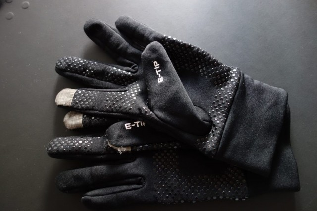 THE NORTH FACE ETIP GLOVE BLACK 全体2