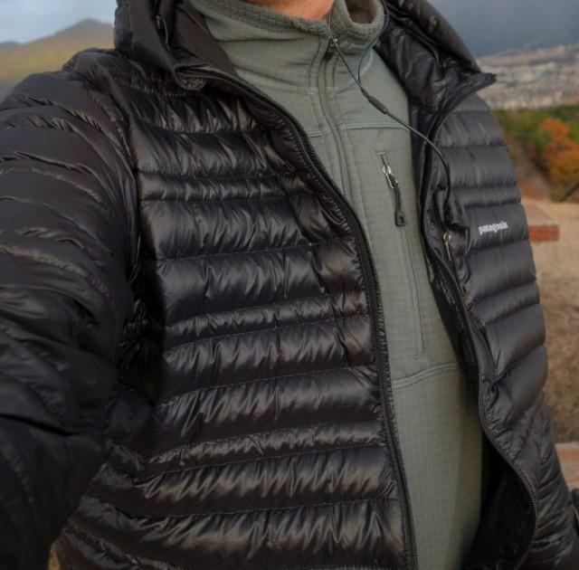 Patagonia Men's Ultralight Down Hoody 正面