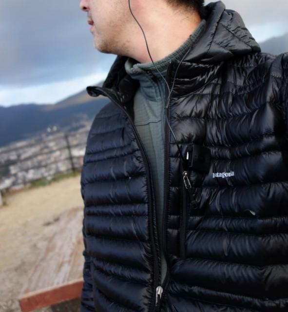 Patagonia Men's Ultralight Down Hoody 光の加減