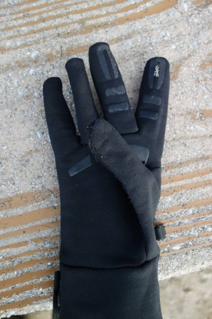 Outdoor Research Men's Backstop Gloves 縫った