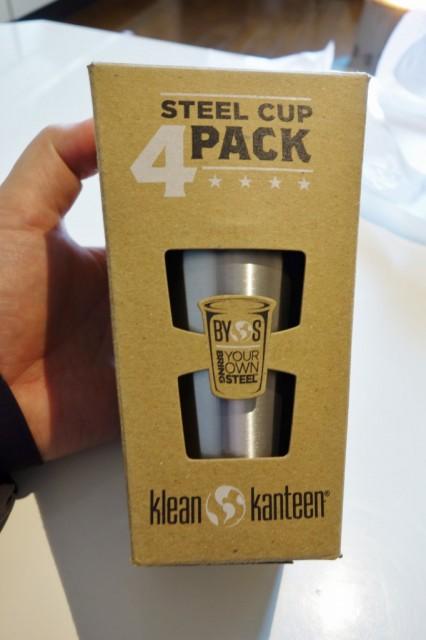 Klean Kanteen クリーンカンティーン スチールカップ 10oz 4Pack 箱だけ