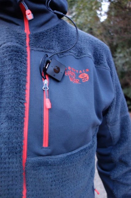 Mountain Hardwear Monkey Man Grid Zipper Jacket 前ズーム