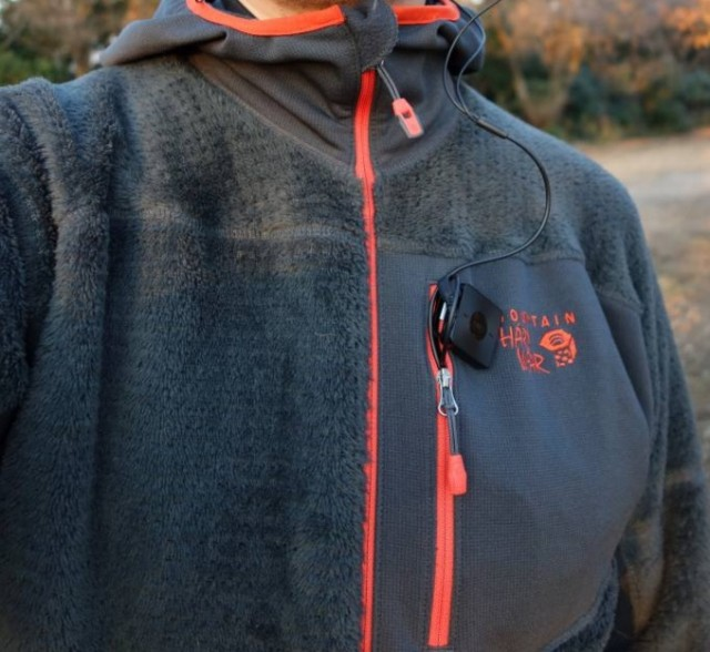 Mountain Hardwear Monkey Man Grid Zipper Jacket 前2
