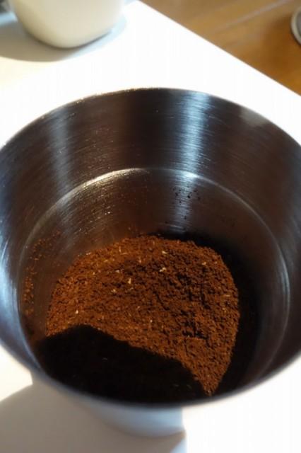 ポーレックス コーヒーミル ミニでコーヒー豆を挽いてみる