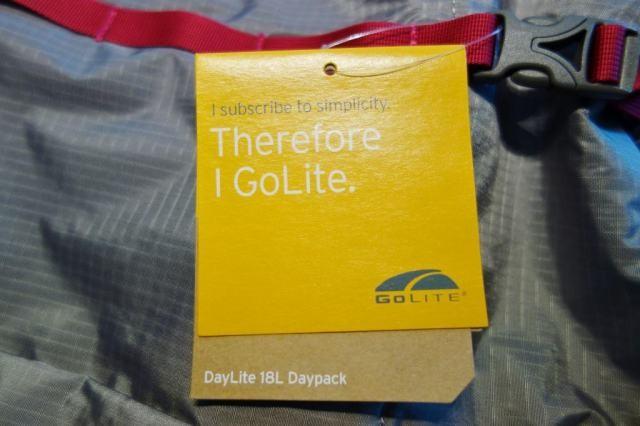 DayLite 18L Daypack タグ