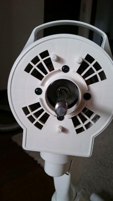 扇風機 表ビス4つ