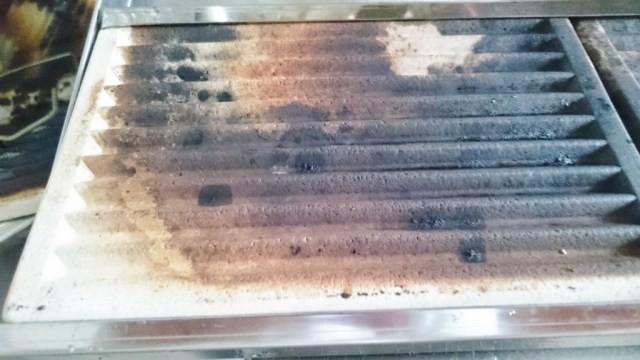 セラミックの部分は大分黒くなってきた