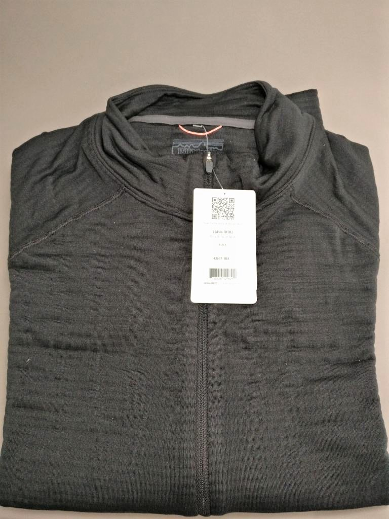 patagonia キャプリーン TW Zip Neck 平置き