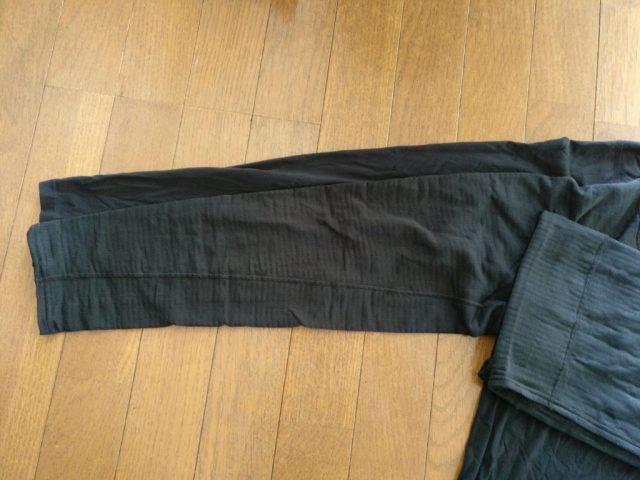 Arc'teryx Phase SL Zip Neck LS Lサイズとpatagonia キャプリーン TW Zip Neck 腕の長さ