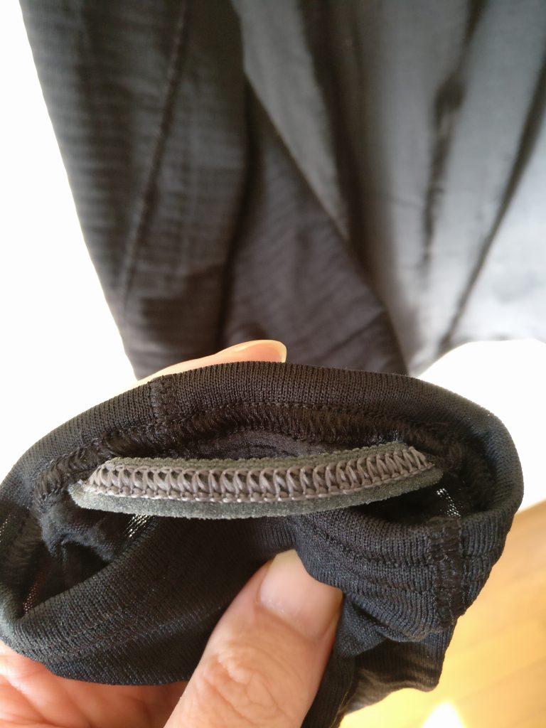 patagonia キャプリーン TW Zip Neck 袖 親指ループ