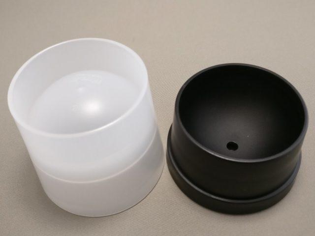 丸氷 黒いフタと容器