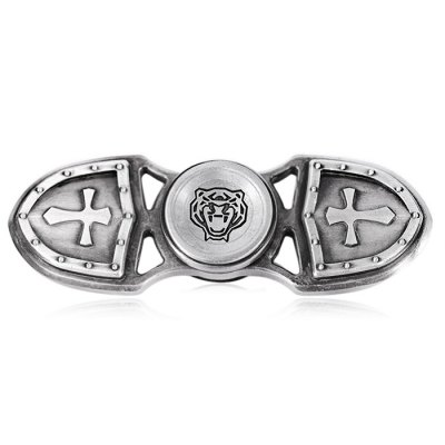Retro Cross Zinc Alloy Light Fidget Spinner