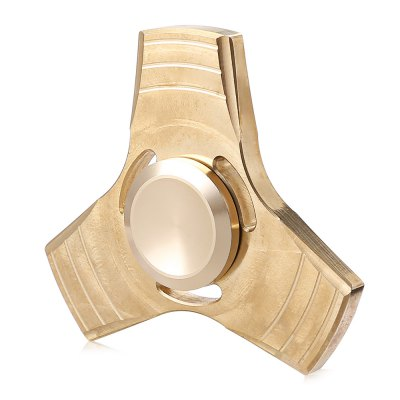 Brass Gyro Focus Anti-stress Plaything