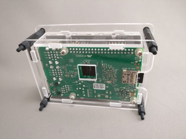 "3.5"" Raspberry Pi TouchScreen LCD Display +Clear Case for Pi 2 3 4"