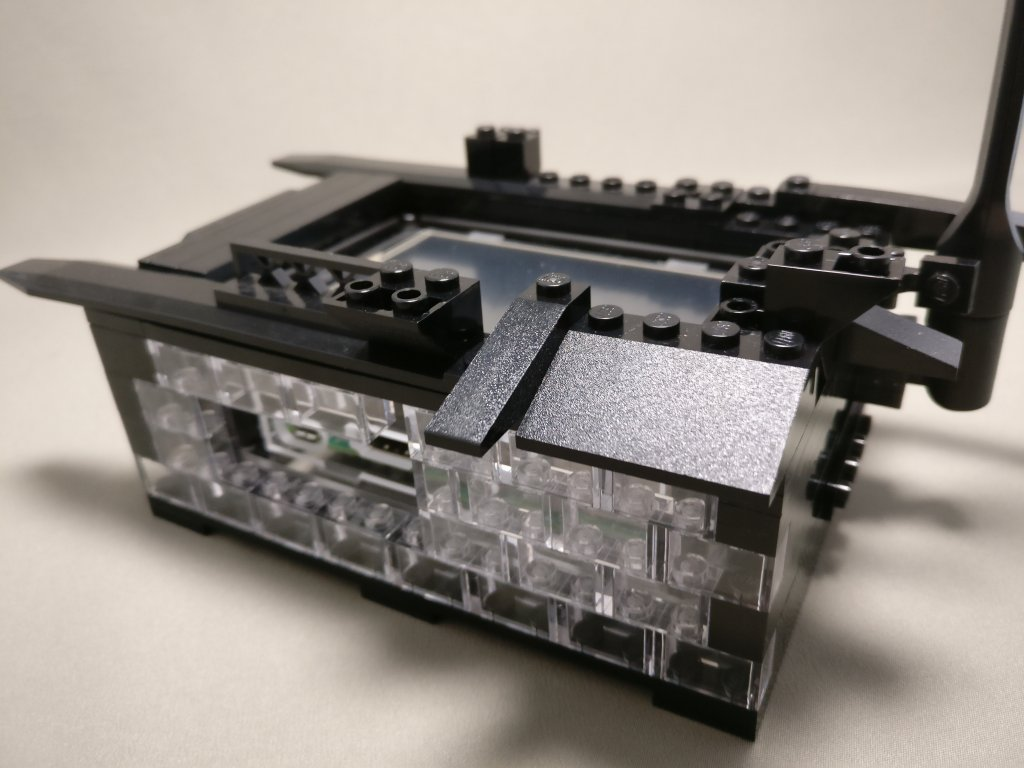LEGO ラズパイ2ケース ズーム