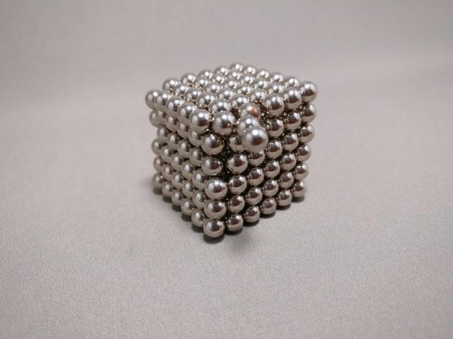 216Pcs 5mm Sliver DIY Neocube Magic Beads Magnetic Balls Puzzle