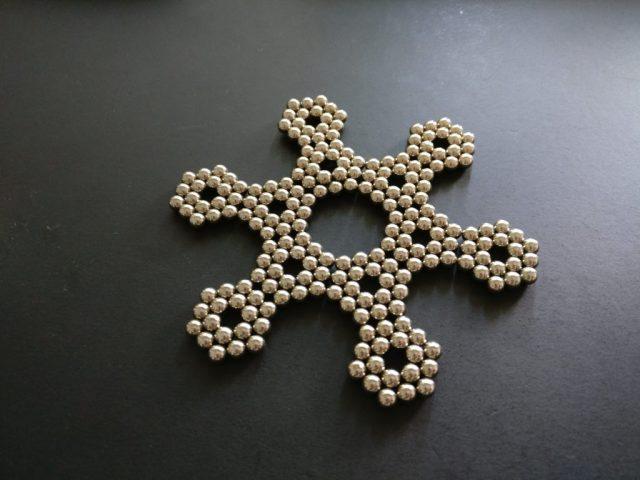 強力磁石パズル 星