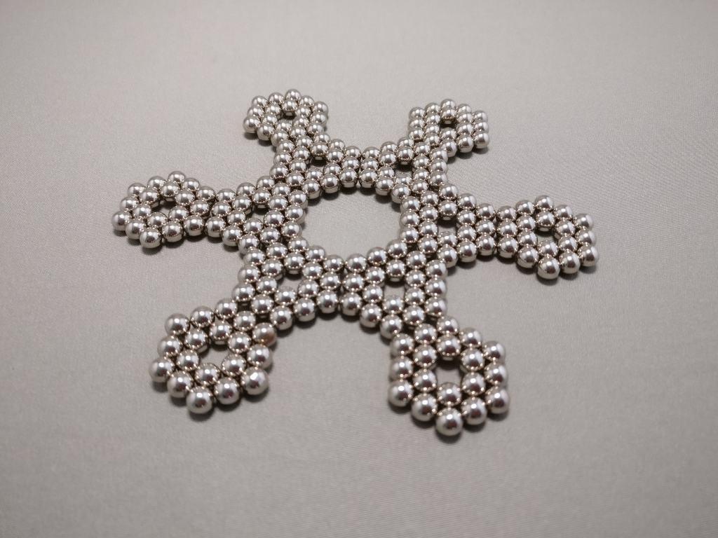 強力磁石パズル 星2