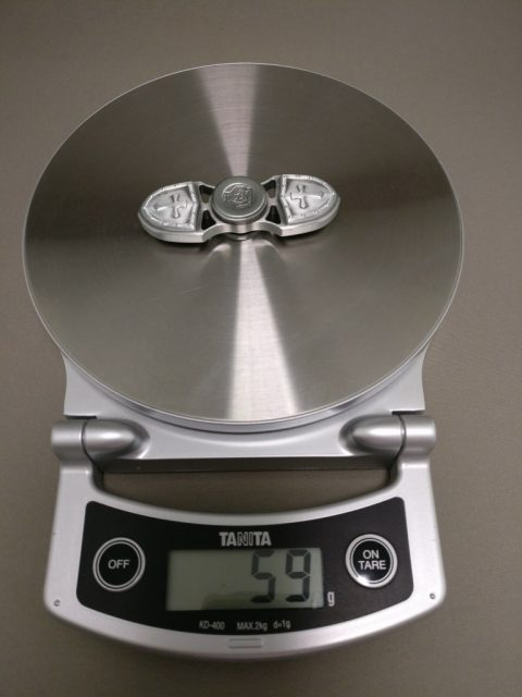 レトロクロス亜鉛合金Fidget Spinner 重量