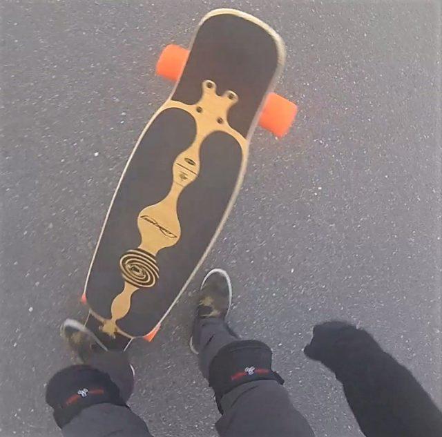 【ロングスケートボード】ノーコンプライ 2