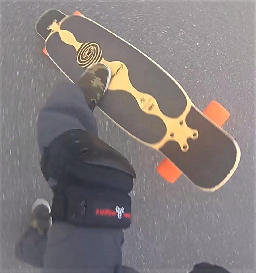 【ロングスケートボード】ノーコンプライ 1