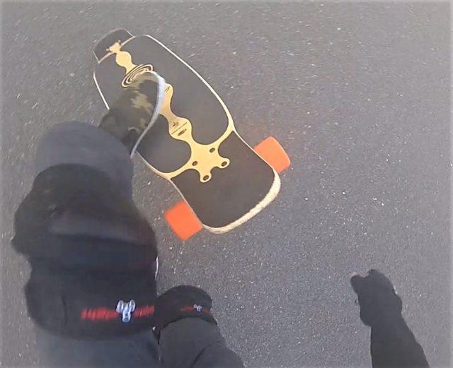 【ロングスケートボード】ノーコンプライ 3