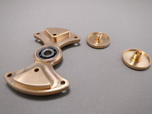 MINGTA Copper ハンドスピナー 軸分解