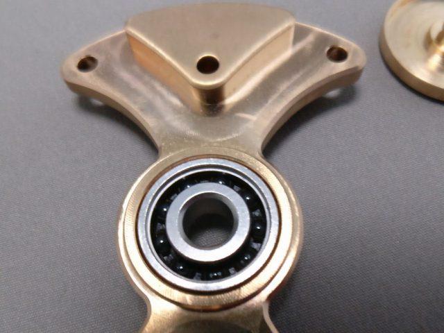 MINGTA Copper ハンドスピナー 軸分解 表ズーム