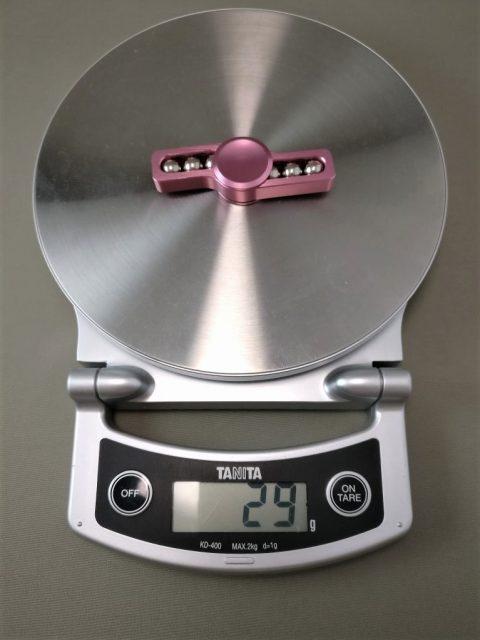 Fidget Rotating ハンドスピナー 軸 重量