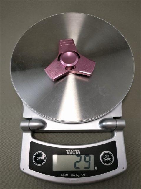 Tri-Spinner Fidget Pattern ハンドスピナー ブリキ 重量