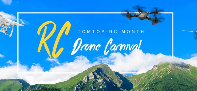 【TOMTOP】RC ドローン カーニバル キャンペーン開催中!