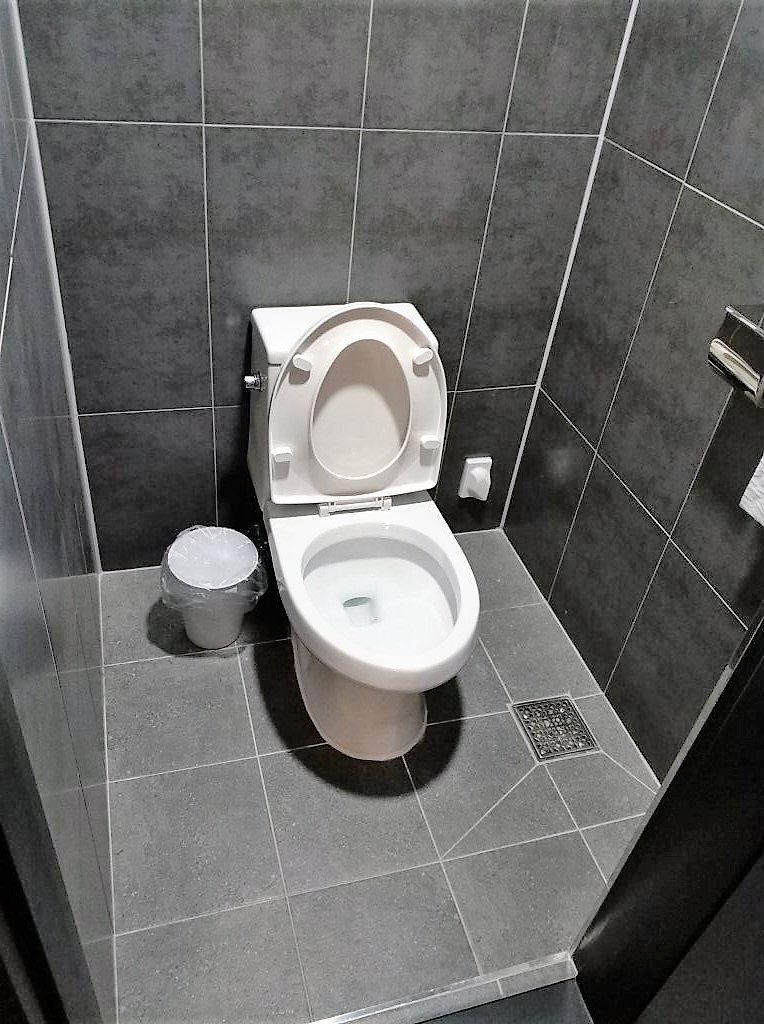 ホテルのトイレ