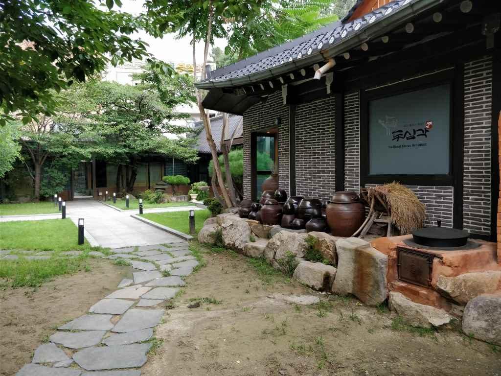 大邸 韓国伝統料理店2