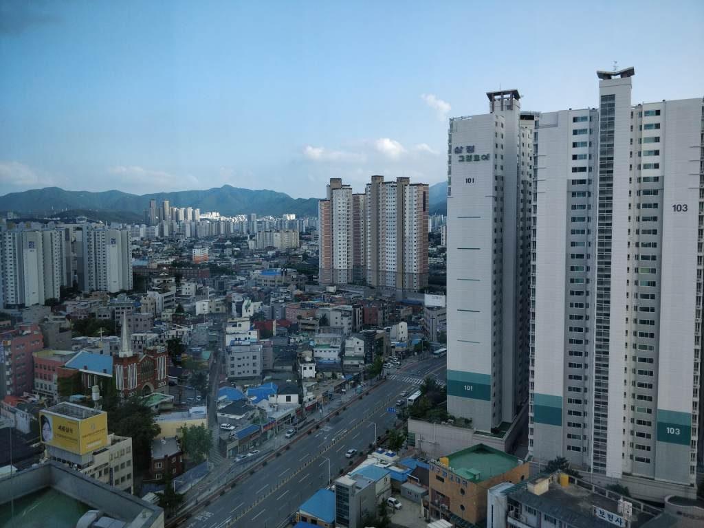 Dalgubeol-daero 18階からの景色