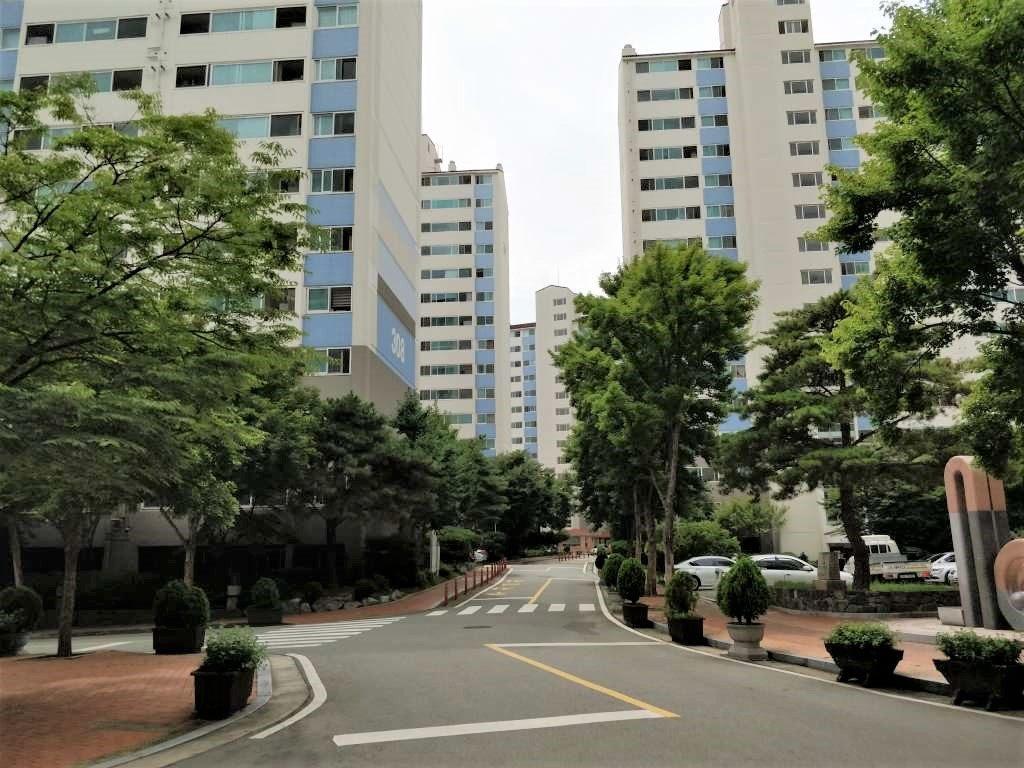 大邸 慶山  マンション群2
