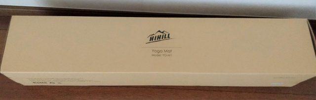 HIHILL ヨガマット YG-M1 箱1