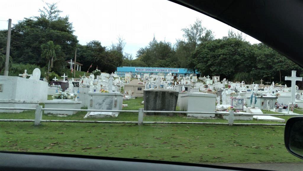 グアム お墓