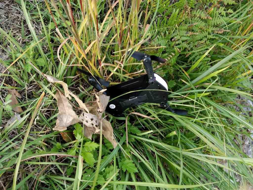 JRC H37 飛ばす 墜落