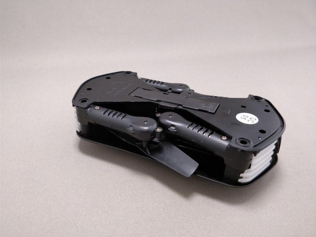 JJRC H37  バッテリー 装着