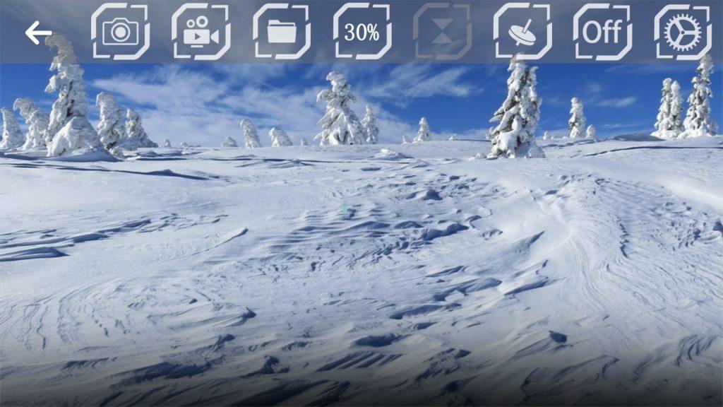 JRC H37 アプリ初期画面