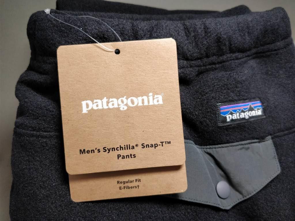 Patagonia シンチラ スナップT パンツ4
