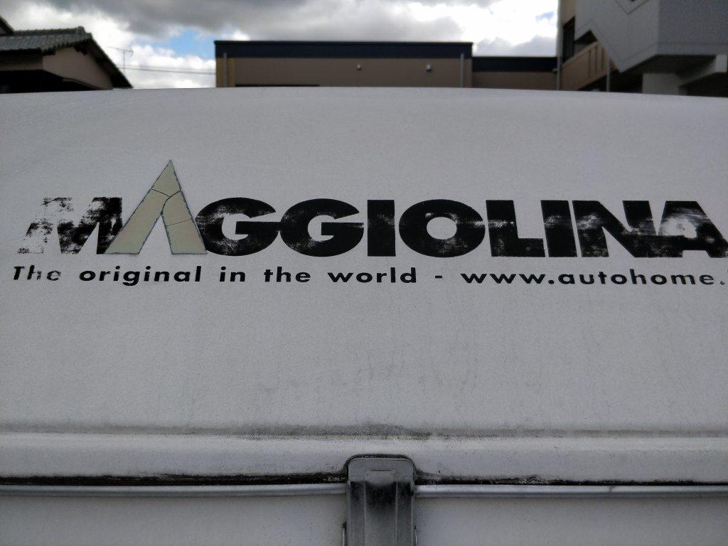 ルーフテント MAGGIOLINA マジョリーナ エクストリーム ミディアム 洗車前