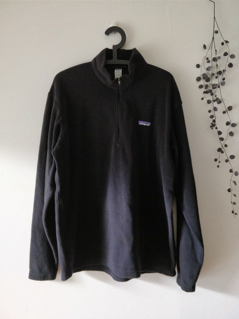 Patagonia Men's Synchilla Snap-T シャツ L 表
