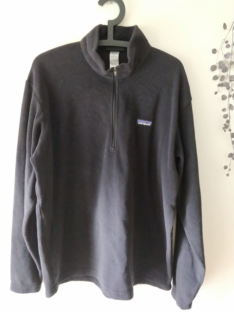 Patagonia Men's Synchilla Snap-T シャツ L 表2