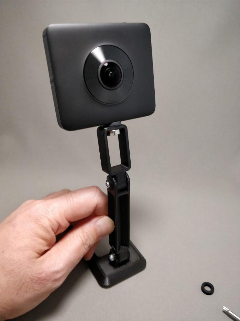 3DプリントカメラユニバーサルマウントDJI Mavic Pro用 取り付け